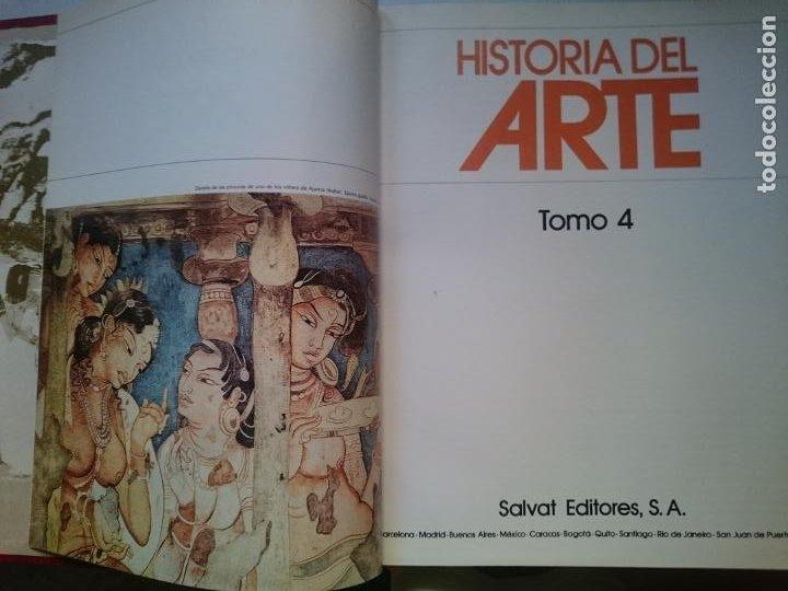 HISTORIA DEL ARTE - TOMO 4 -VER FOTOS (Libros de Segunda Mano - Historia - Otros)