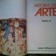 Libros de segunda mano: HISTORIA DEL ARTE - TOMO 4 -VER FOTOS. Lote 207542527