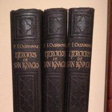 Libros de segunda mano: EJERCICIOS DE SAN IGNACIO TOMOS DEL I AL VI. Lote 207543431