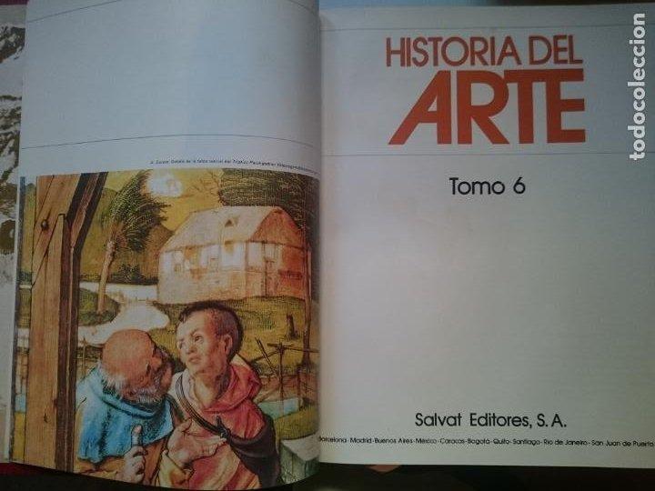 HISTORIA DEL ARTE - TOMO 6 -VER FOTOS (Libros de Segunda Mano - Historia - Otros)