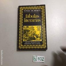 Libros de segunda mano: FÁBULAS LITERARIAS. Lote 207547462