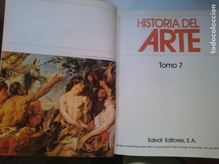 HISTORIA DEL ARTE - TOMO 7 -VER FOTOS (Libros de Segunda Mano - Historia - Otros)