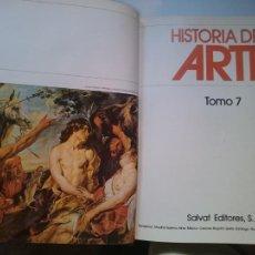 Libros de segunda mano: HISTORIA DEL ARTE - TOMO 7 -VER FOTOS. Lote 207547915