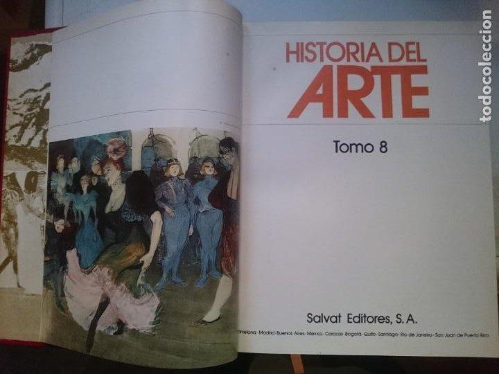 HISTORIA DEL ARTE - TOMO 8 -VER FOTOS (Libros de Segunda Mano - Historia - Otros)