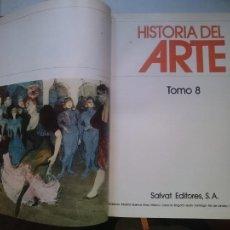 Libros de segunda mano: HISTORIA DEL ARTE - TOMO 8 -VER FOTOS. Lote 207549956