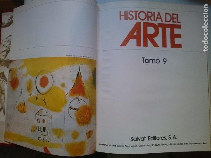 HISTORIA DEL ARTE - TOMO 9 -VER FOTOS (Libros de Segunda Mano - Historia - Otros)
