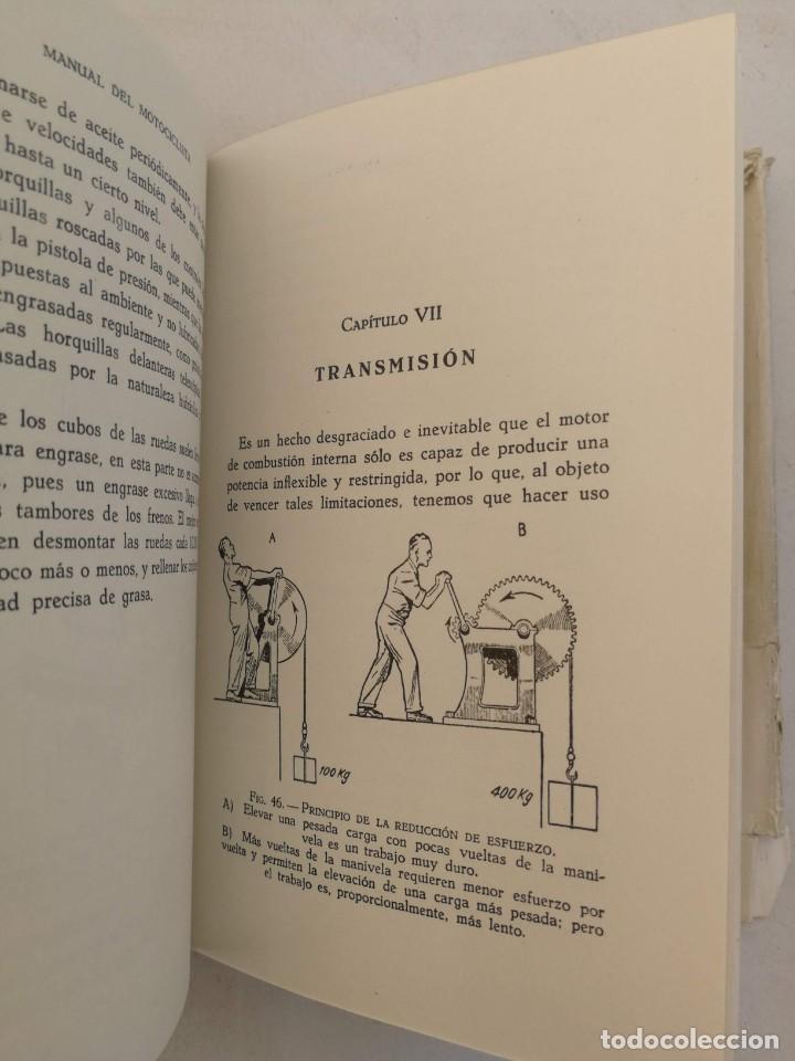 Libros de segunda mano: ANTIGUO LIBRO MANUAL DEL MOTOCICLISTA 1951 - 1ª EDICION - POR LOS REDACTORES DE MOTOR CYCLING - 253 - Foto 3 - 207639535