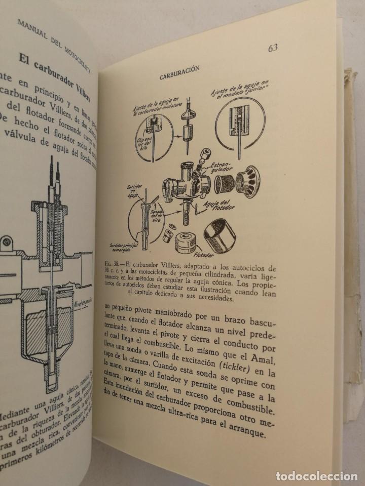 Libros de segunda mano: ANTIGUO LIBRO MANUAL DEL MOTOCICLISTA 1951 - 1ª EDICION - POR LOS REDACTORES DE MOTOR CYCLING - 253 - Foto 4 - 207639535
