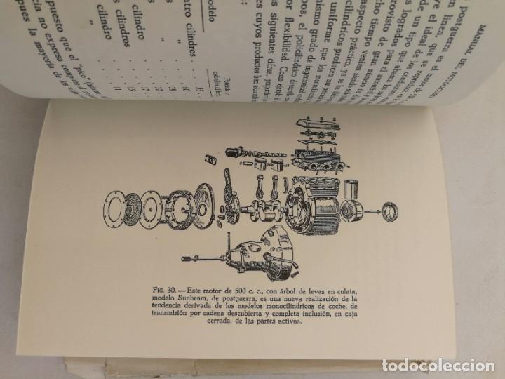 Libros de segunda mano: ANTIGUO LIBRO MANUAL DEL MOTOCICLISTA 1951 - 1ª EDICION - POR LOS REDACTORES DE MOTOR CYCLING - 253 - Foto 6 - 207639535