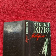 Libros de segunda mano: 1988. MALEFICIO. STEPHEN KING. CIRCULO DE LECTORE. BARCELONA. ESCRITA EN CASTELLANO. BIEN CONSERVADO. Lote 207642808