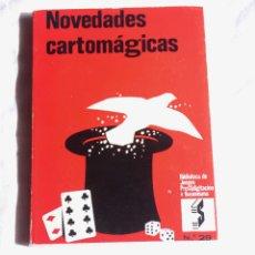 Libros de segunda mano: NOVEDADES CARTOMAGICAS , EDITORIAL SINTES. Lote 207690850