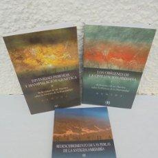 Libros de segunda mano: RAMTHA. 3 LIBROS. LOS ORIGENES DE LA CIVILIZACION HUMANA. DIVINIDAD PERDIDA MANIPULACION GENETICA.... Lote 207756367