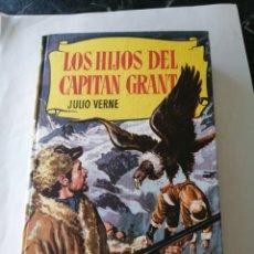 Libros de segunda mano: LOS HIJOS DEL CAPITAN GRANT. JULIO VERNE. 1964. BRUGUERA. COLECCIÓN HISTORIAS.. Lote 207865737
