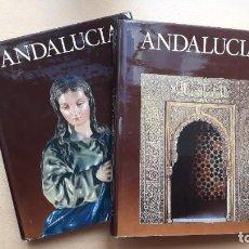 Libros de segunda mano: ANDALUCÍA, TIERRAS DE ESPAÑA, 2 TOMOS – 1ª EDICIÓN. FUNDACIÓN JUAN MARCH.. Lote 207894107