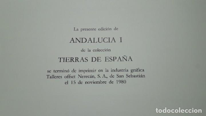 Libros de segunda mano: ANDALUCÍA, TIERRAS DE ESPAÑA, 2 TOMOS – 1ª edición. Fundación Juan March. - Foto 17 - 207894107