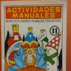Libri di seconda mano: ADORNOS Y TRABAJOS NAVIDEÑOS. Nº 11. ACTIVIDADES MANUALES. EDITORIAL MIGUEL A SALVATELLA. Lote 207948296