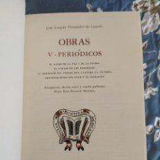 Libros de segunda mano: 1973. PERIÓDICOS/OBRAS. CONVERSACIONES DEL PAYO Y EL SACRISTÁN. JOSÉ JOAQUÍN FERNÁNDEZ DE LIZARDI.. Lote 207962028