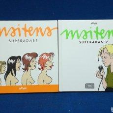 Libros de segunda mano: MAITENA, SUPERADAS, 2 TOMOS, RQUER EDITORIAL. Lote 207977545