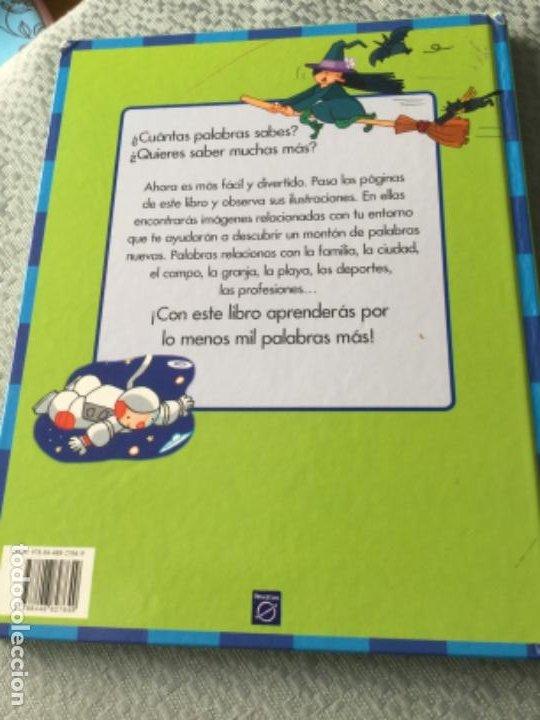 Libros de segunda mano: Libro Mis primeras mil palabras de Montse Adell. Buen estado - Foto 4 - 207979531