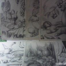 Libros de segunda mano: LOTE 9 LAMINAS EMILIO FREIXAS SERIE 42 BODEGONES. Lote 207984027