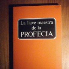Libros de segunda mano: LIBRO - LA LLAVE MAESTRA DE LA PROFECÍA - IGLESIA DE DIOS UNIVERSAL - HERBERT W. AMSTRONG 1983. Lote 208014676