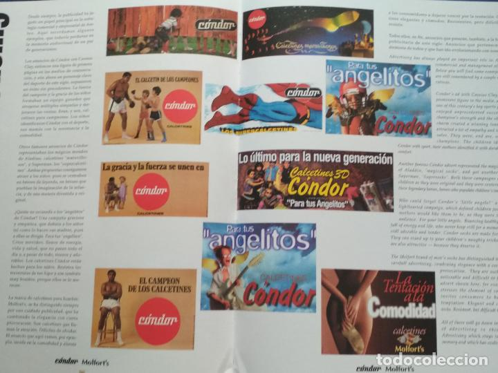 Libros de segunda mano: LIBRO 100 ANIVERSARIO ARETEX, S.A MARCAS CALCETINES CÓNDOR MOLFORTS (1898-1998) - Foto 2 - 208113267
