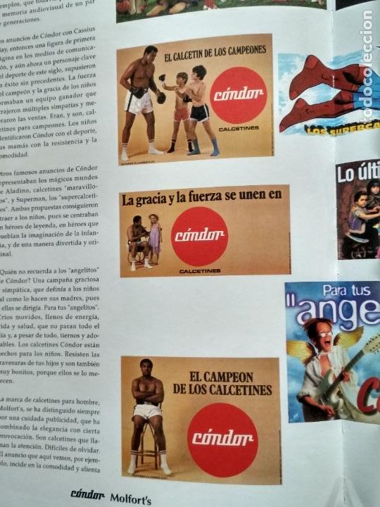 Libros de segunda mano: LIBRO 100 ANIVERSARIO ARETEX, S.A MARCAS CALCETINES CÓNDOR MOLFORTS (1898-1998) - Foto 6 - 208113267