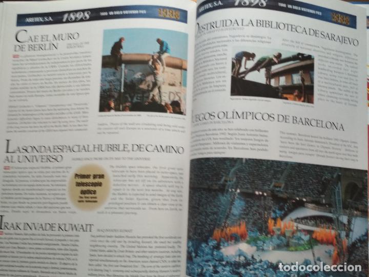 Libros de segunda mano: LIBRO 100 ANIVERSARIO ARETEX, S.A MARCAS CALCETINES CÓNDOR MOLFORTS (1898-1998) - Foto 7 - 208113267