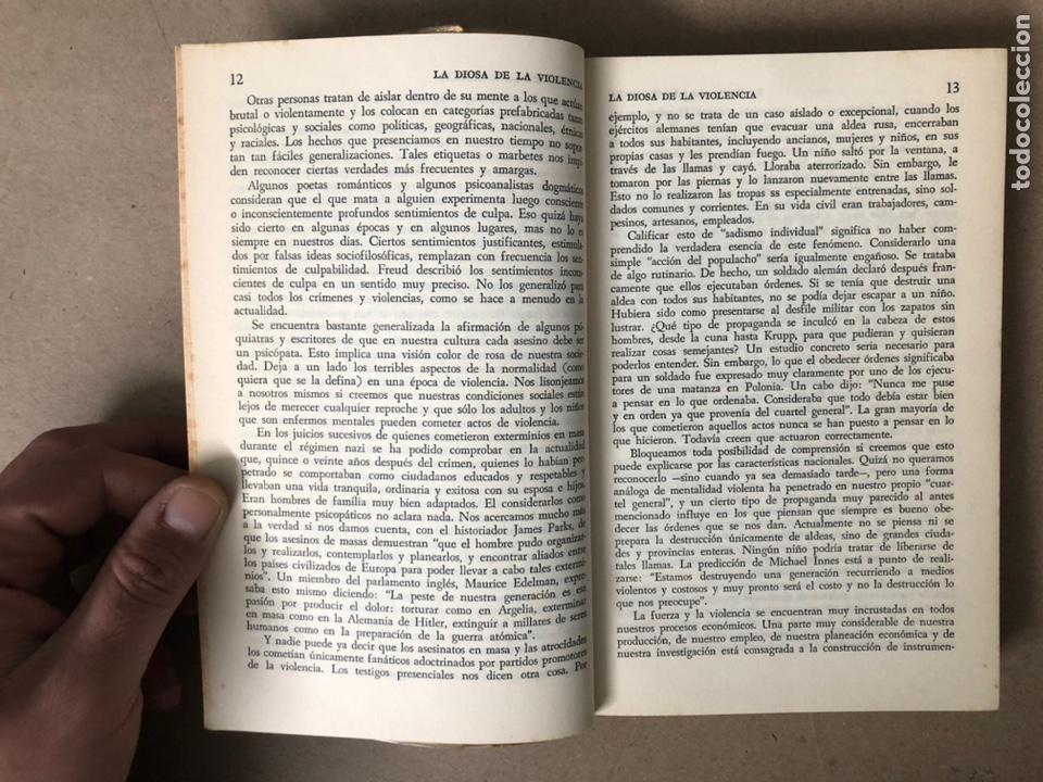 Libros de segunda mano: LA SEÑAL DE CAÍN (SOBRE LA VIOLENCIA HUMANA). FREDRIC WERTHAM. SIGLO VEINTIUNO EDITORES 1971. - Foto 4 - 208165653