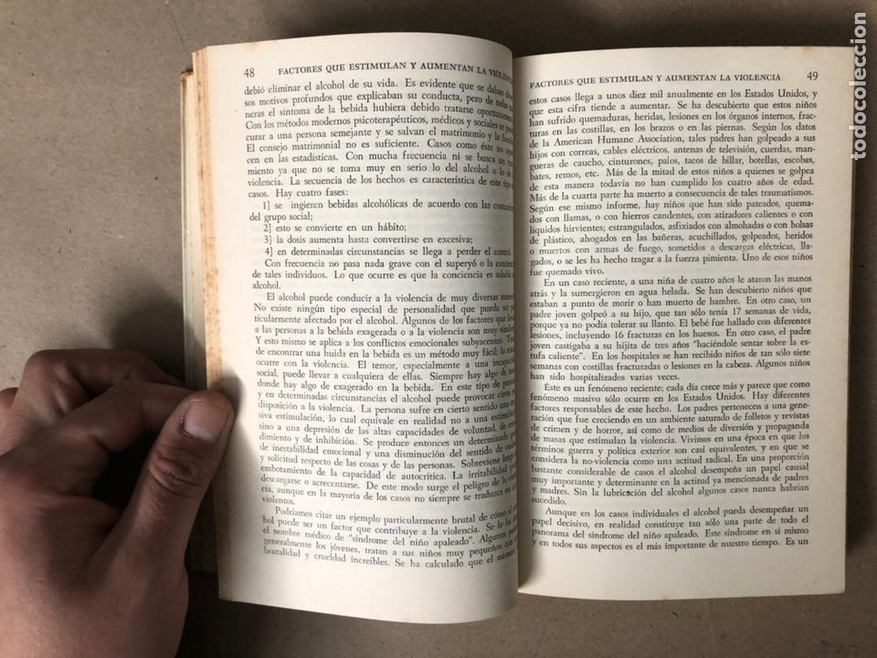 Libros de segunda mano: LA SEÑAL DE CAÍN (SOBRE LA VIOLENCIA HUMANA). FREDRIC WERTHAM. SIGLO VEINTIUNO EDITORES 1971. - Foto 5 - 208165653