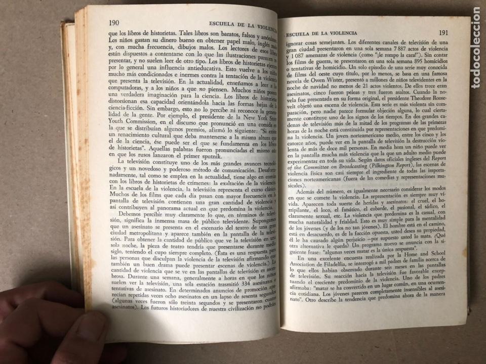 Libros de segunda mano: LA SEÑAL DE CAÍN (SOBRE LA VIOLENCIA HUMANA). FREDRIC WERTHAM. SIGLO VEINTIUNO EDITORES 1971. - Foto 8 - 208165653