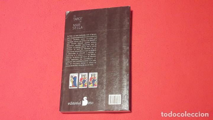 Libros de segunda mano: EL TAROT DE MARSELLA. JULIAN M. WHITE. EDITORIAL SIRIO SA. - Foto 2 - 208174823