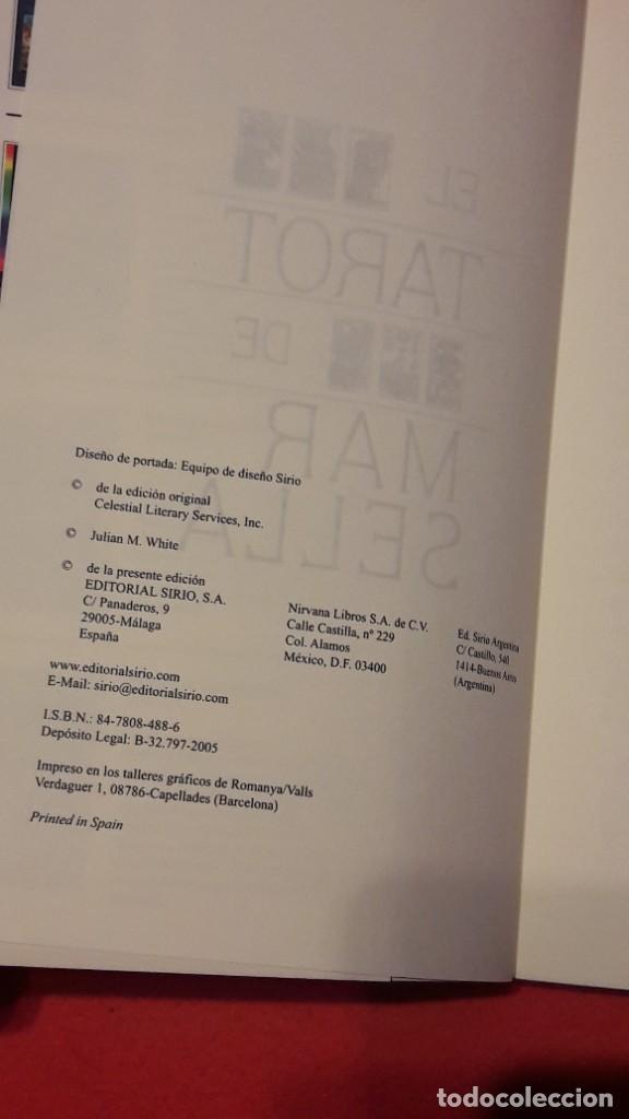 Libros de segunda mano: EL TAROT DE MARSELLA. JULIAN M. WHITE. EDITORIAL SIRIO SA. - Foto 4 - 208174823
