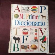 Libros de segunda mano: LIBRO MI PRIMER DICCIONARIO DE BETTY ROOT. Lote 208181061