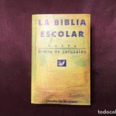 Libros de segunda mano: LIBRO LA BIBLIA ESCOLAR. Lote 208181962