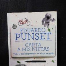 Libros de segunda mano: CARTA A MIS NIETAS - EDUARDO PUNSET. Lote 208186713