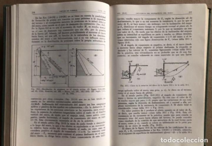 Libros de segunda mano: MECÁNICA DEL SUELO, CIMIENTOS Y ESTRUCTURAS DE TIERRA, POR GREGORY P. TSCHEBOTARIOFF. AGUILAR 1960 - Foto 6 - 208200288