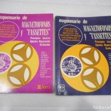 Libros de segunda mano: ESQUEMARIO DE MAGNETÓFONOS Y CASSETTES (8 TOMOS) Q1141WAM. Lote 208240146