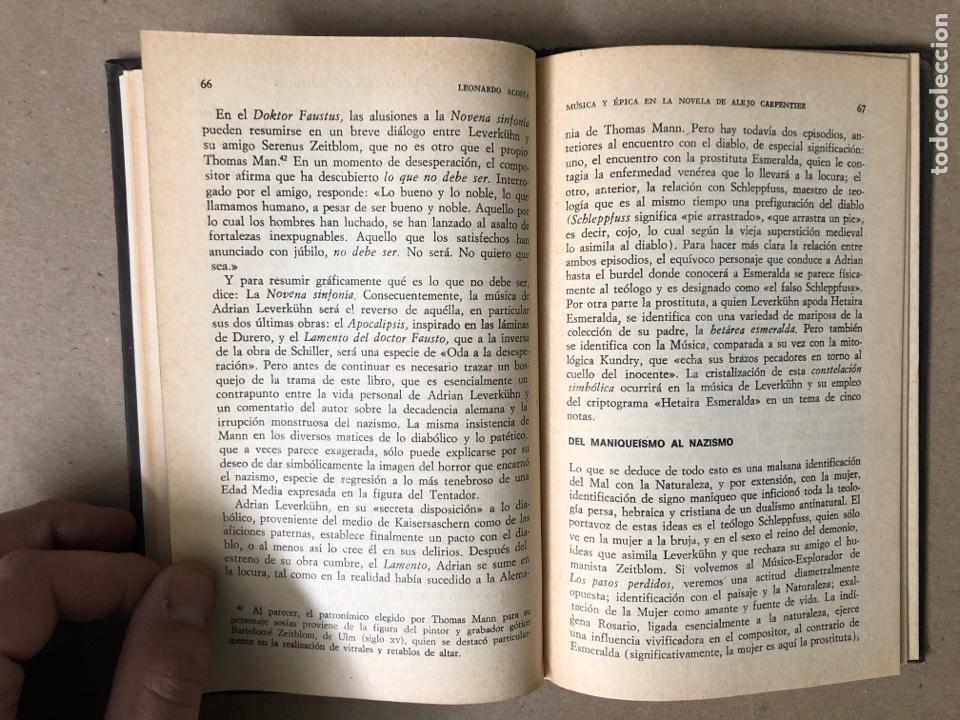 Libros de segunda mano: MÚSICA Y ÉPICA EN LA NOVELA DE ALEJO CARPENTIER. LEONARDO ACOSTA. EDITORIAL LETRAS CUBANAS 1981. - Foto 6 - 208272758