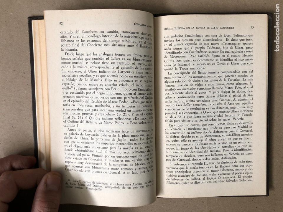 Libros de segunda mano: MÚSICA Y ÉPICA EN LA NOVELA DE ALEJO CARPENTIER. LEONARDO ACOSTA. EDITORIAL LETRAS CUBANAS 1981. - Foto 7 - 208272758