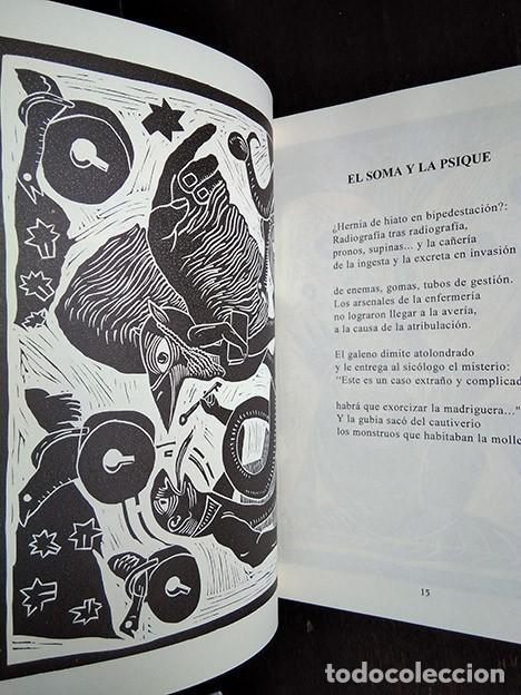 Libros de segunda mano: Bestiario · Baonza, Romero. Prólogo de José Hierro. Firmado por los autores - Foto 3 - 208286715