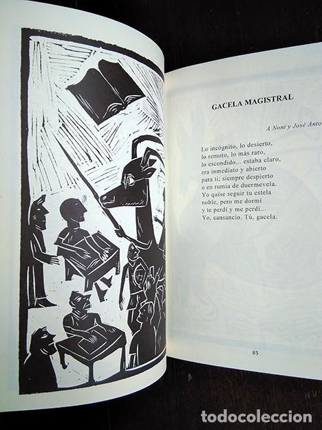 Libros de segunda mano: Bestiario · Baonza, Romero. Prólogo de José Hierro. Firmado por los autores - Foto 4 - 208286715