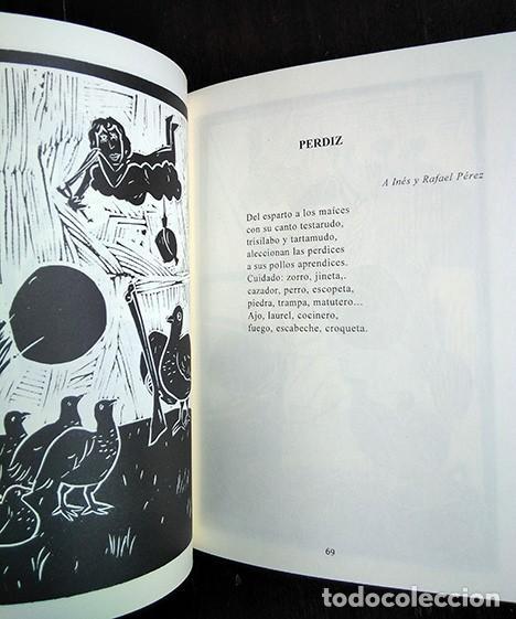 Libros de segunda mano: Bestiario · Baonza, Romero. Prólogo de José Hierro. Firmado por los autores - Foto 5 - 208286715