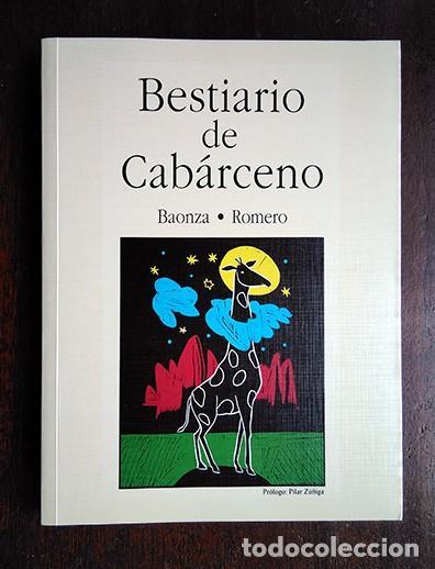 BESTIARIO DE CABÁRCENO · BAONZA, ROMERO. FIRMADO POR LOS AUTORES (Libros de Segunda Mano - Bellas artes, ocio y coleccionismo - Otros)