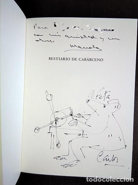 Libros de segunda mano: Bestiario de Cabárceno · Baonza, Romero. Firmado por los autores - Foto 2 - 208289812