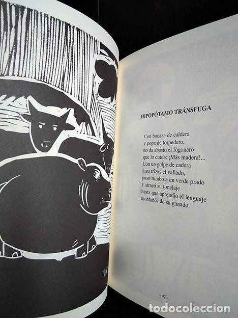 Libros de segunda mano: Bestiario de Cabárceno · Baonza, Romero. Firmado por los autores - Foto 4 - 208289812