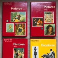 Libros de segunda mano: DICCIONARIO UNIVERSAL DEL ARTE Y DE LOS ARTISTAS, PINTORES (3 TOMOS) Y ESCULTORES. ED. GUSTAVO GILI . Lote 146208378