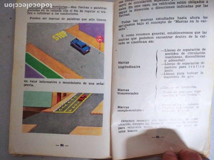 Libros de segunda mano: Antiguo libro de la autoescuela gaditana. - Foto 3 - 208323032