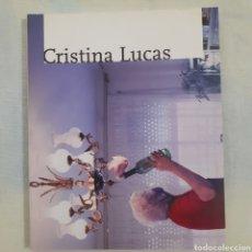 Libros de segunda mano: CRISTINA LUCAS. CENTRO MUNICIPAL DE LAS ARTES DE ALCORCÓN. 2006. 80 PGS. TAPA CARTULINA CON SOLAPA.. Lote 208355370