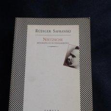 Libros de segunda mano: NIETZSCHE, BIOGRAFIA DE SU PENSAMIENTO. RUDIGER SAFRANSKI. Lote 208431802